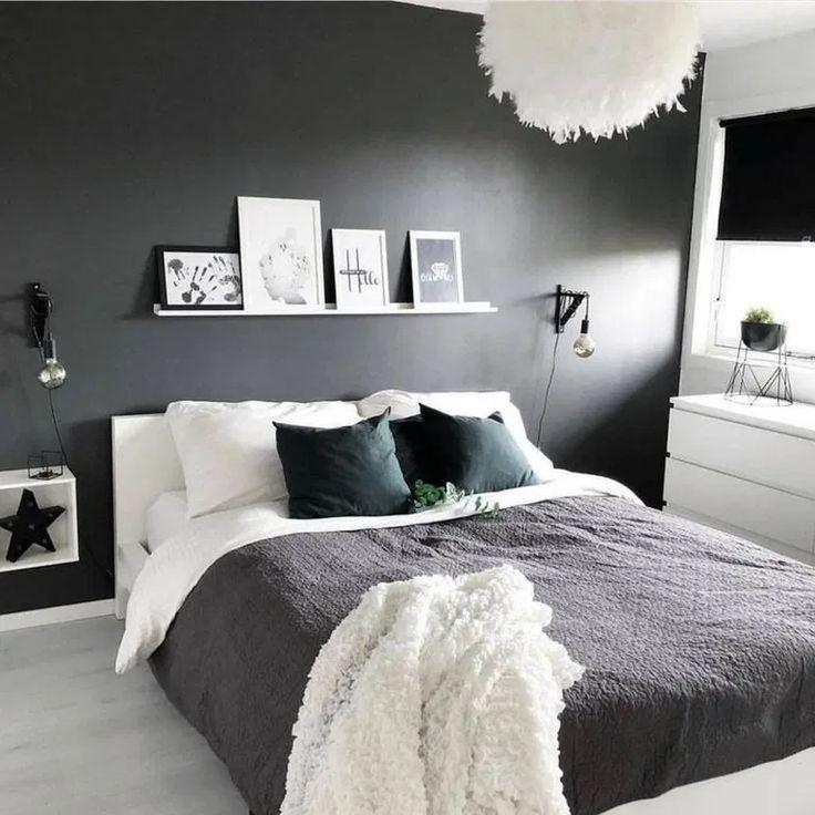 90 Top Popular Cozy Minimalist Bedroom » housesempurna #bedroomideas #bedroomdecor #bedroomdesign