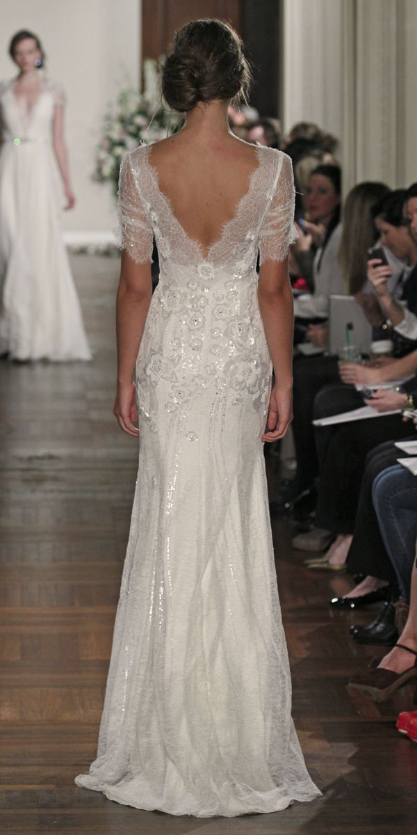 Vestido Jenny Packham Wedding Dress - Mimosa This dress back is so pretty!