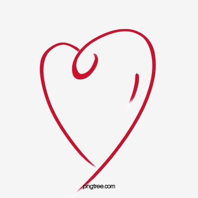 Heart Stroke Heart Outline Heart Clipart Brief Strokes Line Png Transparent Clipart Image And Psd File For Free Download Heart Outline Heart Outline Png Clip Art
