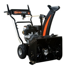 Sno-Tek (Ariens Economy) 20 in 208 cc 2-stage Snow Blower Review at MovingSnow.This snow blower is a specialty snow blower and is designed for SMALL driveways that get lots of snow. This snow blower will throw snow farther than you can with a shovel. It will make you feel good to have room to move around. This SnoTek snow blower would work great if you lived in the city, have a small parking area and get plowed in by the city snow plow.