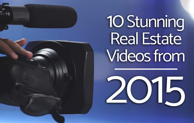 See 10 of the best real estate listing videos from 2015 and learn the tactics that made them successful to implement into your video marketing strategy. http://plcstr.com/1O1DZeE   #realestate #video