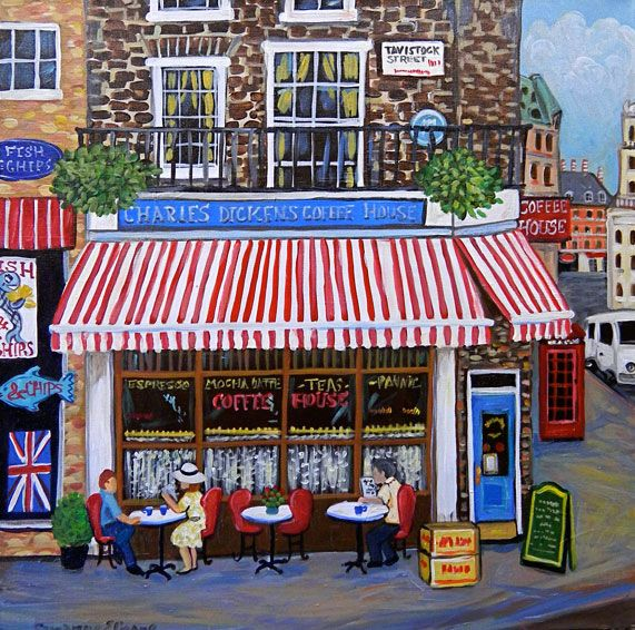 Charles Dickens Coffee House by Suzanne Etienne