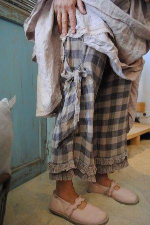 pants, shoes, dress