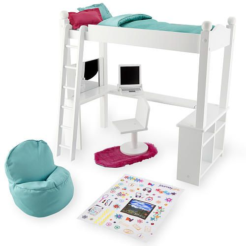 Journey Girls Wood Bed and Desk Combo - Toys R Us - Toys