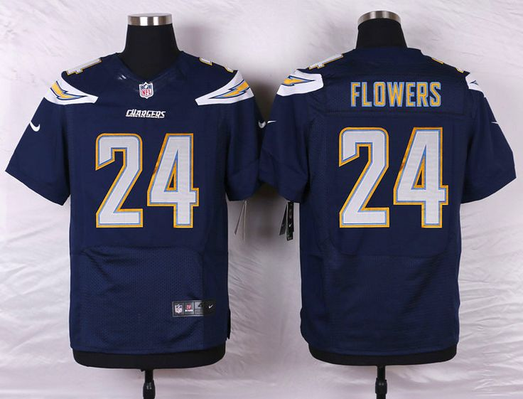 ... Alternate San Diego Chargers 24 Brandon Flowers Elite Navy Blue Team  Color NFL Jersey ... b61e528be