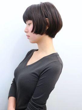 モリオ 池袋店(morio FROM LONDON) 【morio池袋】可愛いエフォートレス黒髪ショートボブ
