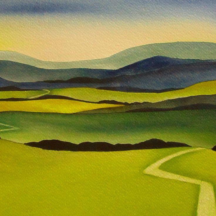 The Road to the Hills by Raewyn Harris www.raewynharris.nz