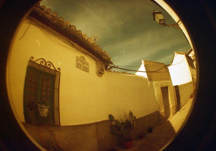 Fisheye Spain, Granada, Mirador de Rolando