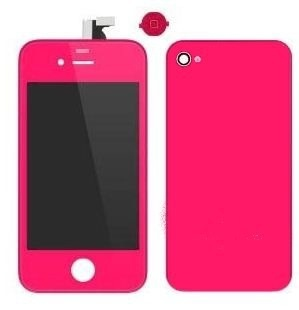 Kit couleur hot pink iPhone 4-4s