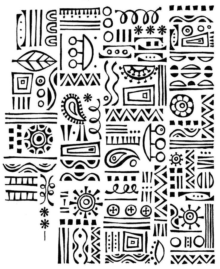 ethnic doodle