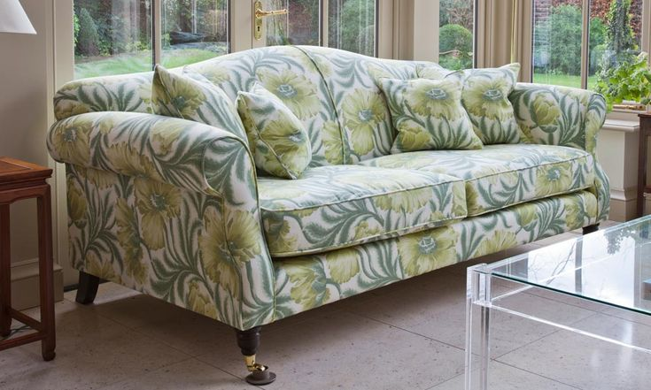 LARGE SOMERBY SOFA - Conservatory Furniture From Interiors By Vale