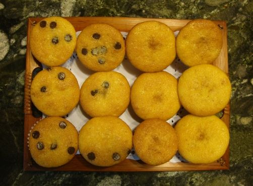Magdalenas de limón (sin gluten) para #Mycook http://www.mycook.es/receta/magdalenas-de-limon-sin-gluten/