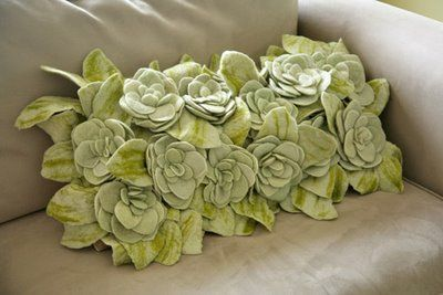 #felt #flower #pillow