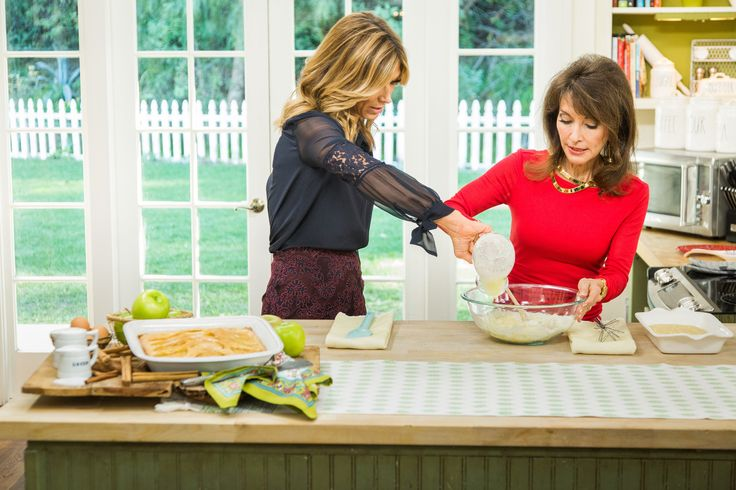 A delcious #Apple #Cake #recipe by the legendary Susan Lucci! For more great recipes tune in to Home & Family weekdays at 10a/9c on Hallmark Channel!