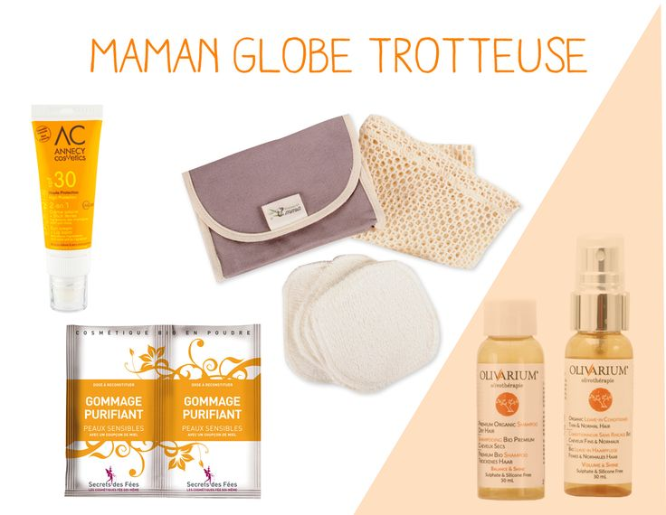 vanity Doux Good - Maman Globe trotteuse