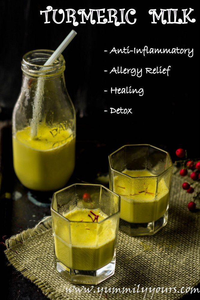 Keep this recipe for TURMERIC MILK ( aka miracle Golden Milk) handy before the allergy season hits you!