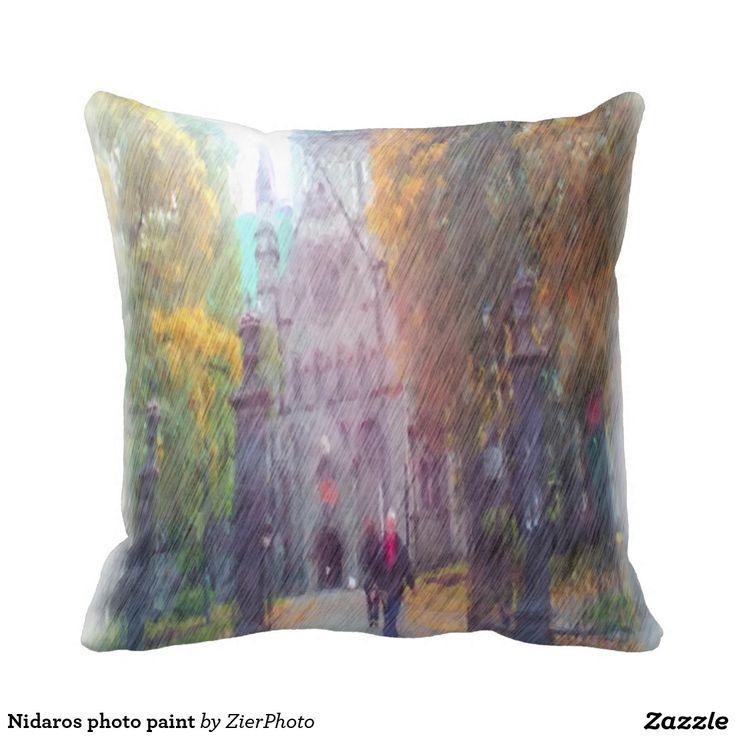 Nidaros photo paint pillows
