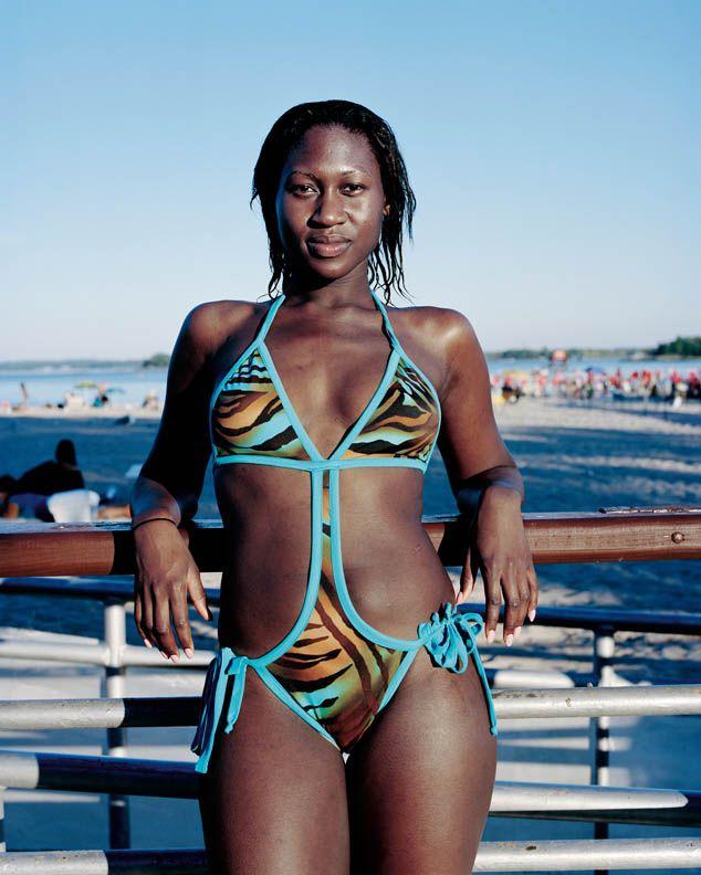 Leopard bikinis model mayhem