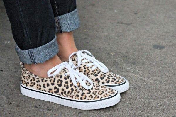 H&M Leopard Sneakers