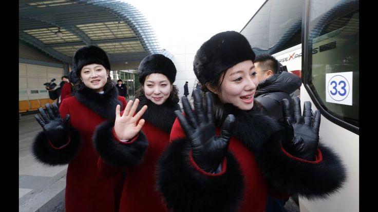 North Korea's 'army of beauties' at Winter Olympics 2018