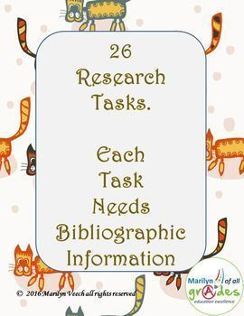 26 Mini Research Projects - Set 2