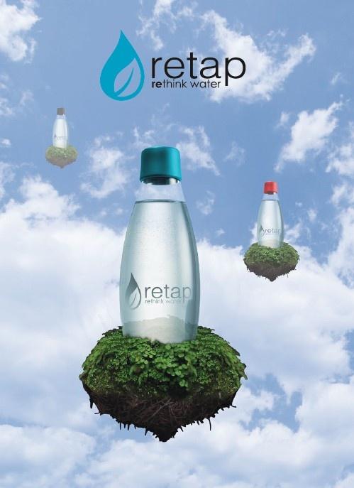 The eco-friendly Retap Bottle  http://www.odora.eu/flase-retap/
