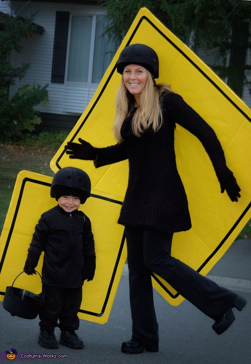 Jen: This is my son and I from last year (2013). I had seen someone dressed as a speed limit sign I found online and thought it would be hilarious to...