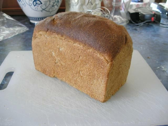 A 100% Whole Wheat Sourdough Loaf- This is the famous recipe I used to make and it is the best one I've tried for 100% whole wheat bread. Light and delicious