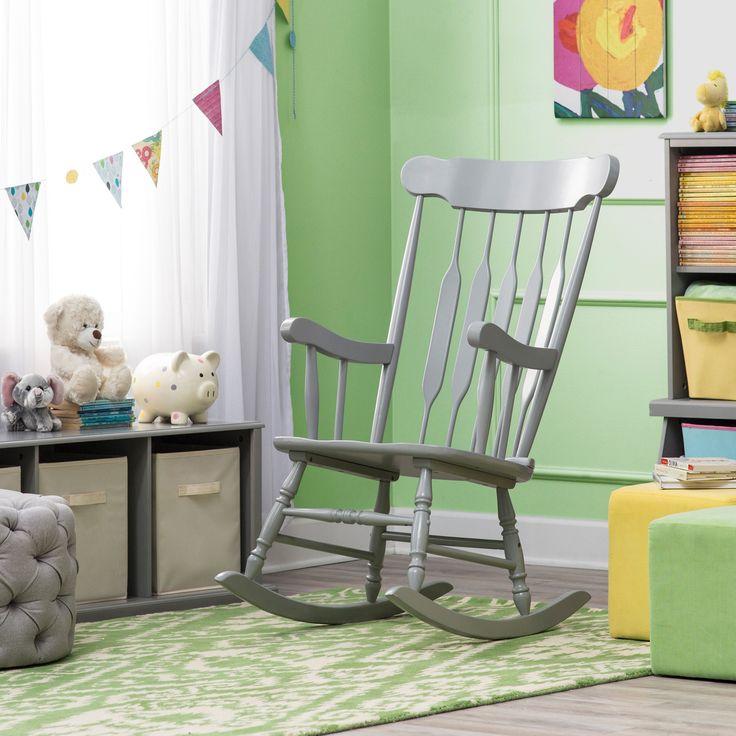 Belham Living Nursery Rocker   Gray   Indoor Rocking Chairs At Hayneedle