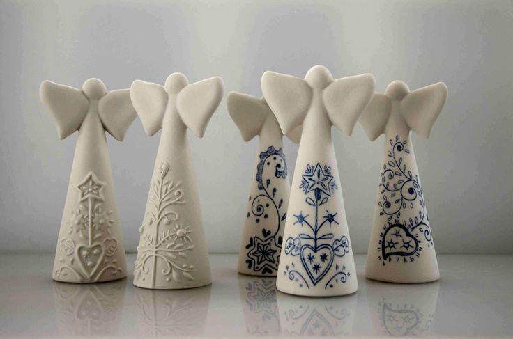 Anjos em Porcelana