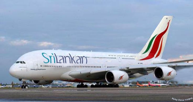 SriLankan Airlines Airbus A380