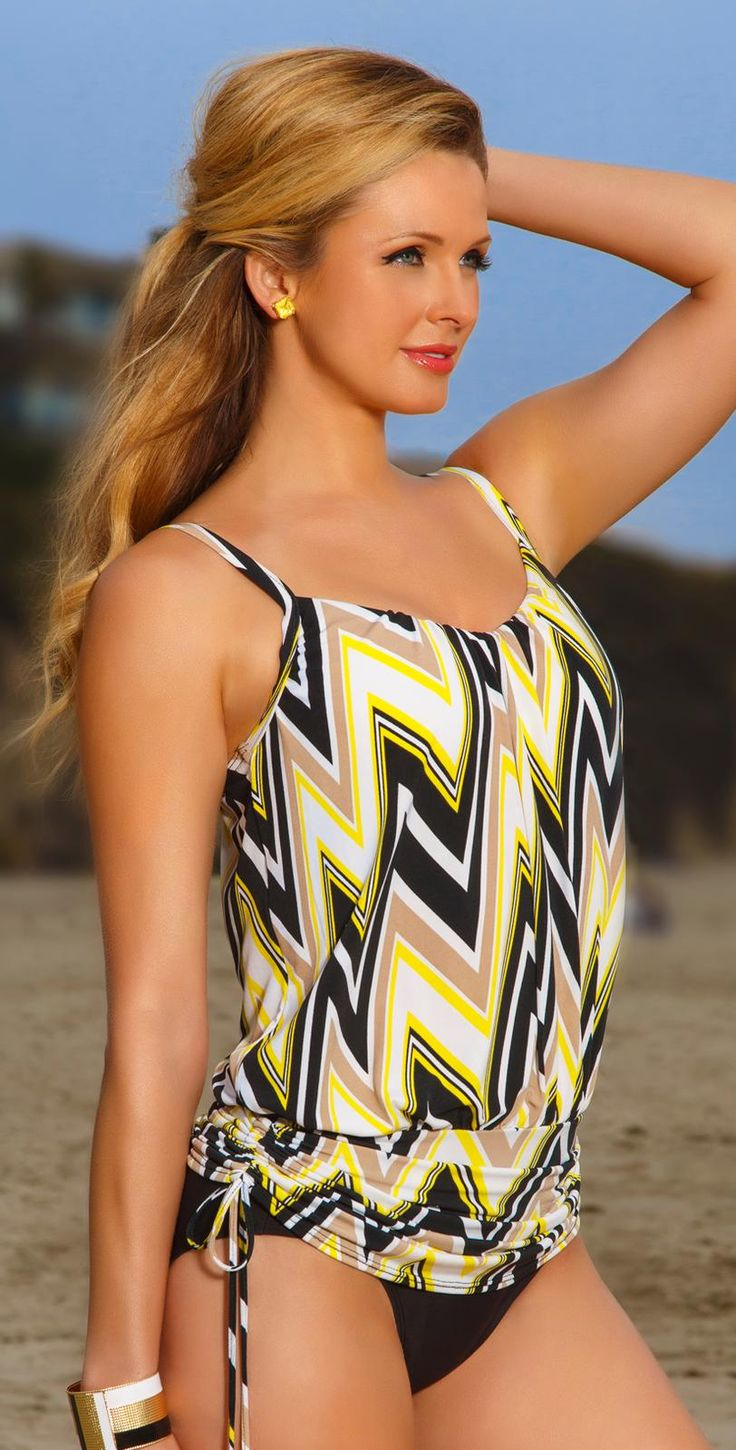 South Beach Swimwear-Magicsuit 2014 Solid Black Full Bottom 475657-Black Perfect for when your backyard if full of people!