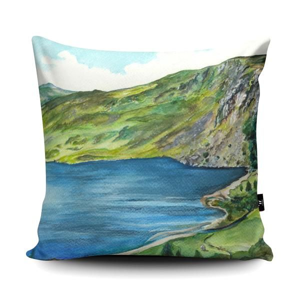 My artwork of Lough Tay, County Wicklow, Ireland features in a Cushion design competition. If you think it is good please could you click like on the Facebook post. Thank you so much! You can also buy the artwork on a cushion for a limited time: