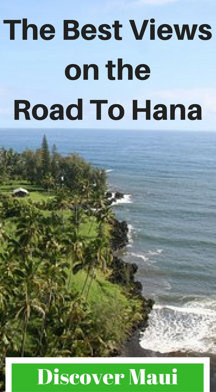 The best views on the Road To Hana. Discover Maui on one of the best road trips in the world. This drive has amazing landscape views of the Maui's coastline, enchanting waterfalls, black sand beaches and much more. There is no wonder why the road to Hana gets voted as one of the best road trips in the world every year. Click to read more at http://www.divergenttravelers.com/road-to-hana-adventure-of-a-lifetime/
