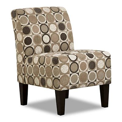 Simmons 174 Armless Accent Chair Patchouli Pewter At Big