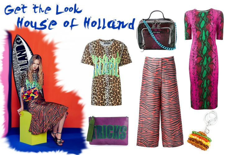 Get the look: Colour Explosion with #HouseofHolland