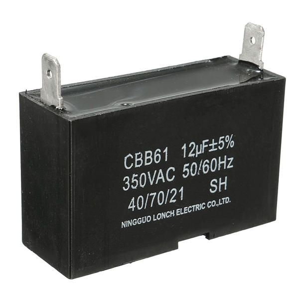12uf Ac 350v Generator Capacitor 55x33x20mm Capacitor Machine Tools Accessories From Tools On Banggood Com Capacitor Generator St Kitts And Nevis
