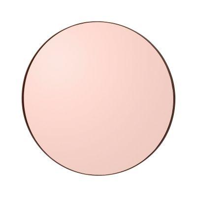 NOK 1699,- Circum speil fra AYTM. Et moderne rundt speil i svak rosa som løfter rommet og blir en flott detalj ...