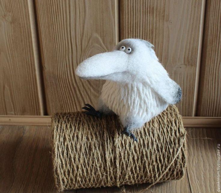 Белая ворона - белый,белая ворона,прикольный подарок,необычный подарок