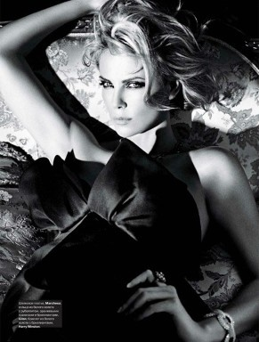 Charlize: Charlize Theron, Style, Charlizetheron, W Magazine, Beauty, Beautiful People, Mario Sorrenti, Photo, Black