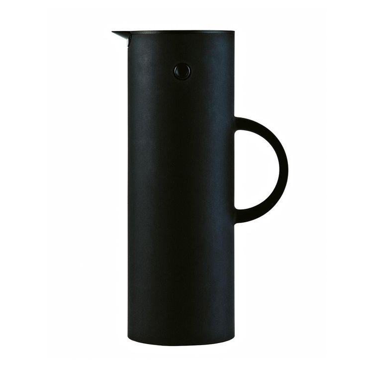 Stelton Isolierkanne 1L, schwarz matt