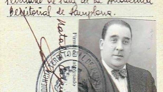 El expresidente de Osasuna (1923 y 1928-35), fusilado en 1936, fue una de las víctimas de la represión franquista en la administración de justicia en Navarra
