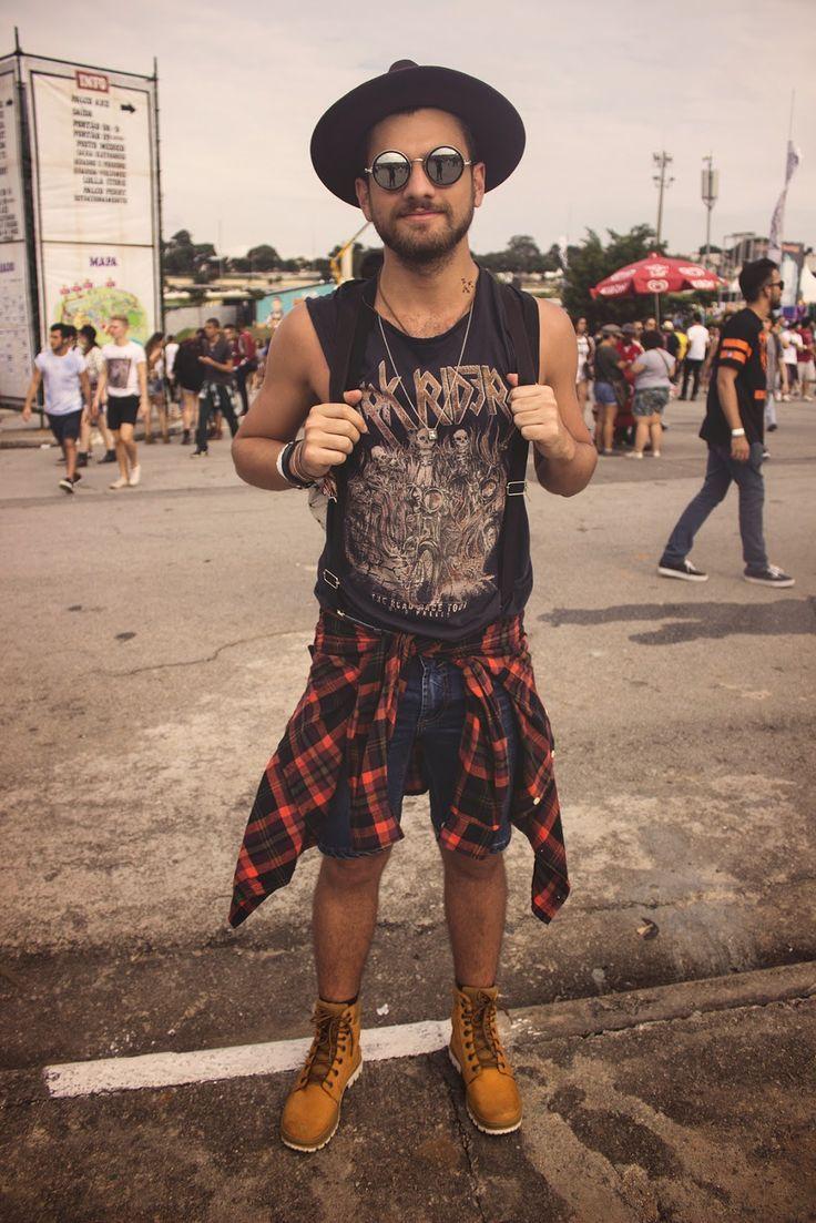 Cool Men's Summer Style Blog de Moda Masculina: Os Looks Masculinos do LollaPalooza Brasil 2015! Check more at http://24myshop.tk/my-desires/mens-summer-style-blog-de-moda-masculina-os-looks-masculinos-do-lollapalooza-brasil-2015/