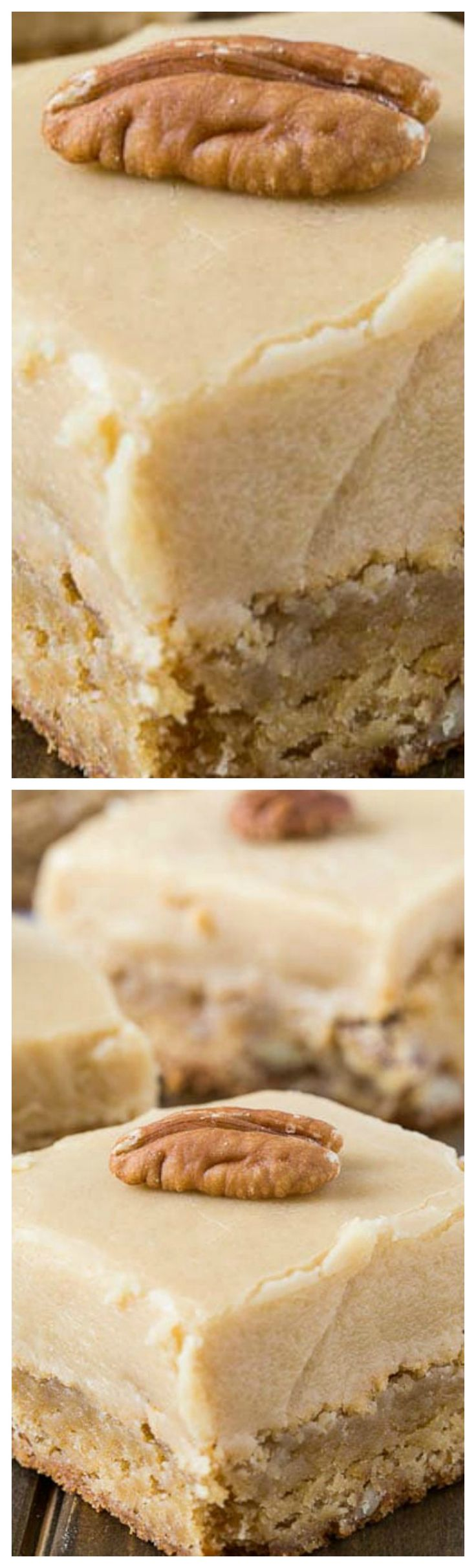 Butterscotch Blondies ~ These blondies are sinful! So sweet and buttery. They are beyond indulgent.