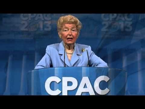 CPAC 2013 - Phyllis Schlafy, Founder, Eagle Forum (Emcee: Steven Crowder)