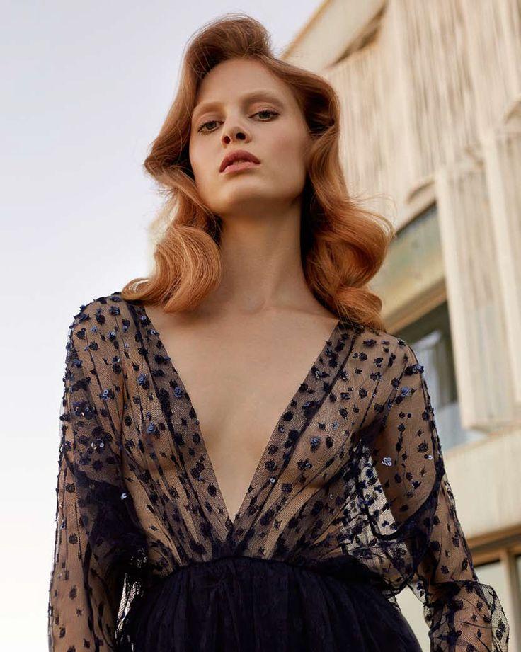 Harper's Bazaar Russia December 2016 Steffi Soede by Agata Pospieszynska