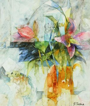 Watercolor artist Shirley Trevena creates paintings on her own terms. See how in this feature.