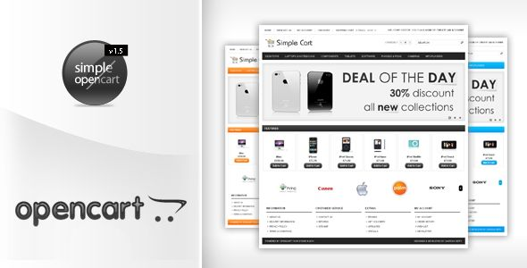 Review Simplecart Opencart Template in 12 Styleslowest price for you. In addition you can compare price with another store and read helpful reviews. Buy
