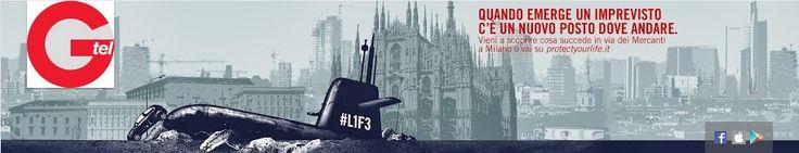 Cover ad-hoc per il lancio della campagna pubblicitaria di ambient marketing che iscena la comparsa di un sottomarino in centro a Milano. Fantastico! http://www.youtube.com/user/GenertelChannel