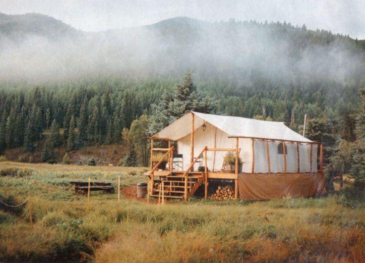 Canvas Tents, Deck Tents, Bush Tents, Bedrolls, Teepees David Ellis Canvas Products